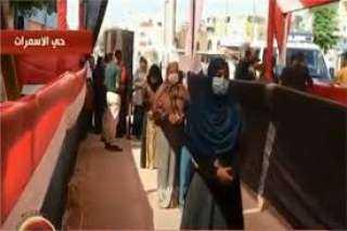 تصدر سيدات حي الأسمرات مشهد انتخابات مجلس الشيوخ اليوم.. فيديو