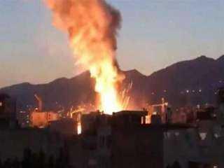 شاهد .. لحظة حدوث أنفجار في بغداد بساحة الطيران
