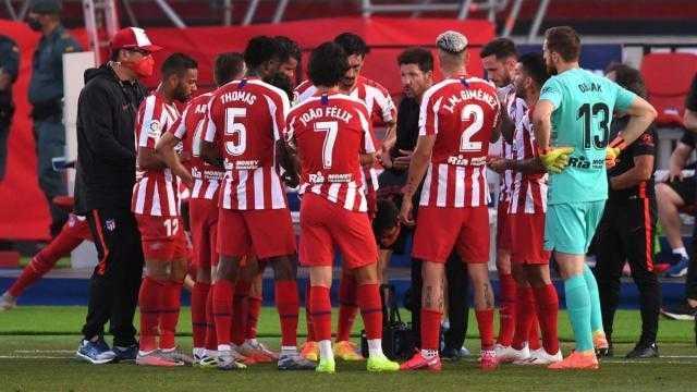 أتليتكو مدريد ينتزع فوزاً مهماً أمام إيبار بالدوري الإسباني
