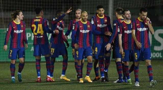برشلونة يتأهل إلى دور الـ 16من كأس ملك إسبانيا بعد تخطي كورنيلا بهدفين