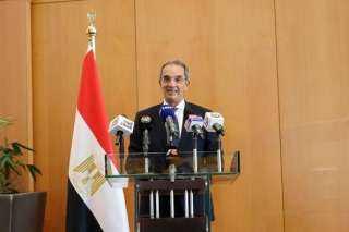 وزير الاتصالات: مشروع الرقم القومي للعقارات سيمنع الخلط بين العناوين