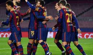 تشكيل برشلونة الرسمي لملاقاة إلتشي بالدوري الإسباني
