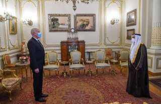 لقاء رئيس الجمهورية التونسية مع رئيس البرلمان العربي