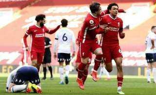 ليفربول يفك عقدة الأنفيلد ويحقق الفوز أمام أستون فيلا