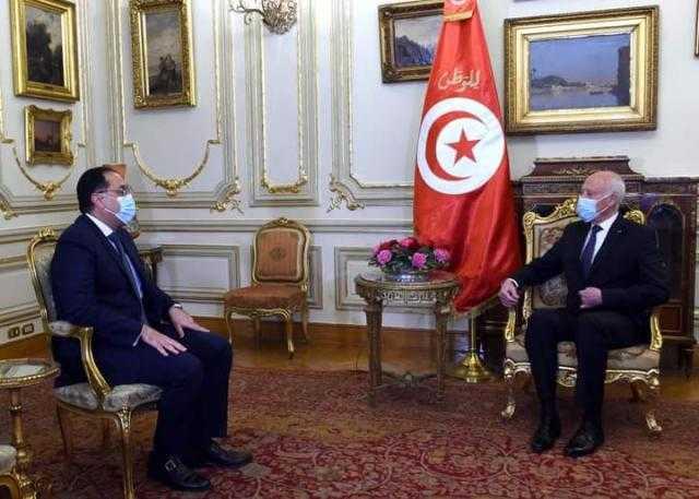 الرئيس التونسى يستقبل رئيس الوزراء بمقر إقامته فى القاهرة