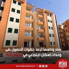 مصر وناسها ترصد خطوات الحصول على وحدات إسكان اجتماعي في الإعلان الـ15