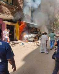 «اتفحموا وهما حاضنين بعض».. تفاصيل مصرع 4 عمال في حريق مخبز دار السلام