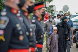 """كندا:  تشييع عائلة مسلمة قتلت في حادث إرهابي """"متعمد"""""""