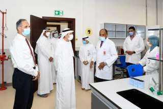 نسيبة يزور المبنى الجديد لمختبرات الطب البيطري بجامعة الإمارات