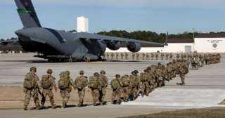 انسحاب 50% من القوات الأمريكية في أفغانستان