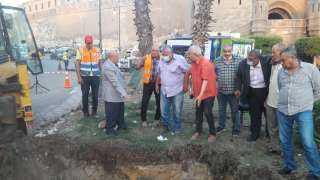 مياة القاهرة: تنجح في منع تسرب المياه أسفل خطوط «مترو السيدة زينب»