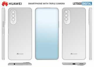 اول هاتف بكاميرا أسفل الشاشة .. و هواوي تسجل برائة إختراعه