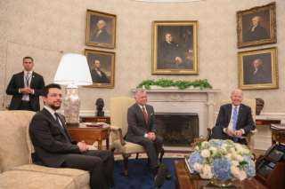 خلال لقائه بايدن: الملك عبدالله الثاني حذر من تدهور الأوضاع في لبنان