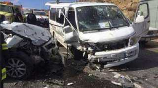 عاجل | في حادث تصادم في الإسكندرية .. إصابة 36 شخص