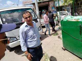 رئيس مركز ومدينة الحامول يقود حملة مكبرة لرفع الإشغالات بشوارع المدينة