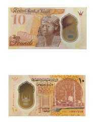الصور الأولي لفئتي الـ 10جنيهات والـ 20 جنيها العملات البلاستيكية الجديدة