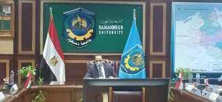 رئيس جامعة دمنهور: يؤكد على أهمية تسويق الأبحاث العلمية