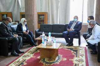 وزيرة الصحة تعقد اجتماعًا مع أطباء الزمالة المصرية بمحافظة المنوفية