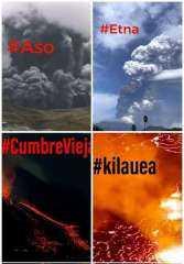 في لمح البصر.. إنفجار أكبر 4 براكين في العالم