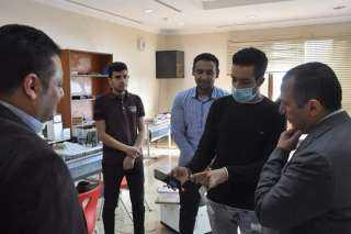 كلية الذكاء الإصطناعي بكفرالشيخ تستضيف فريق التدريب بأكاديمية هواوي