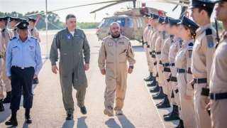 قائد القوات الجوية الإماراتية يصل إسرائيل..شاهد
