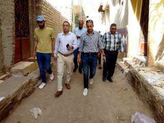 لجنة شؤون القرى ببني سويف تواصل جولاتها الميدانية