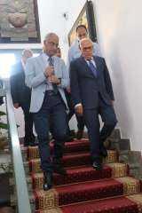 محافظ بورسعيد يشارك في إجتماع مجلس إدارة الجامعة